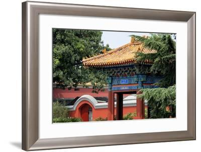 China 10MKm2 Collection - Forbidden City Architecture-Philippe Hugonnard-Framed Photographic Print