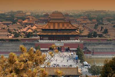 China 10MKm2 Collection - Forbidden City in autumn - Beijing-Philippe Hugonnard-Photographic Print