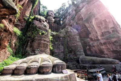 China 10MKm2 Collection - Giant Buddha of Leshan-Philippe Hugonnard-Photographic Print