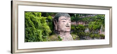 China 10MKm2 Collection - Giant Buddha of Leshan-Philippe Hugonnard-Framed Photographic Print