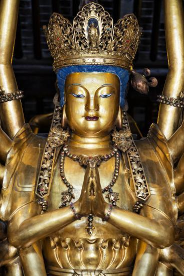 China 10MKm2 Collection - Golden Buddha-Philippe Hugonnard-Photographic Print