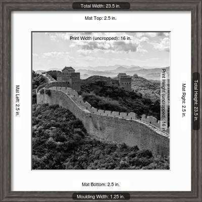 China 10mkm2 Collection Great Wall Of China Photographic Print Philippe Hugonnard Art Com