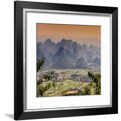 China 10MKm2 Collection - Guilin National Park at Sunset-Philippe Hugonnard-Framed Photographic Print