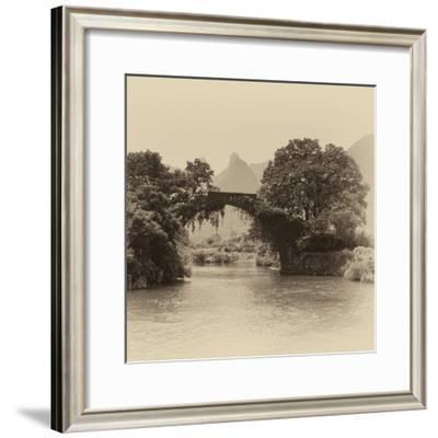 China 10MKm2 Collection - Guilin Yangshuo Bridge-Philippe Hugonnard-Framed Photographic Print
