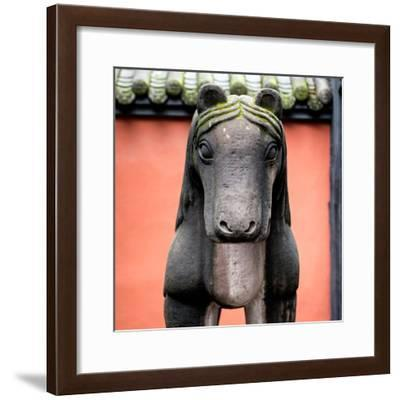China 10MKm2 Collection - Horse Statue-Philippe Hugonnard-Framed Photographic Print