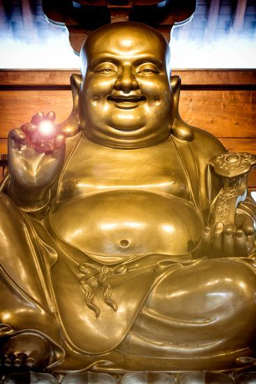 China 10MKm2 Collection - Instants Of Series - Gold Buddha-Philippe Hugonnard-Photographic Print
