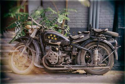 China 10MKm2 Collection - Instants Of Series - Motorcycle Five Stars-Philippe Hugonnard-Photographic Print