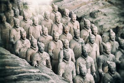 China 10MKm2 Collection - Instants Of Series - Terracotta Army-Philippe Hugonnard-Photographic Print