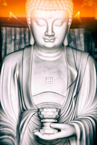 China 10MKm2 Collection - Instants Of Series - White Buddha-Philippe Hugonnard-Photographic Print