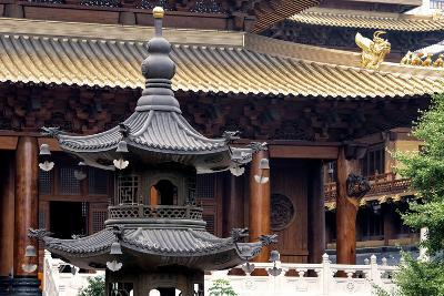 China 10MKm2 Collection - Jing An Temple - Shanghai-Philippe Hugonnard-Photographic Print