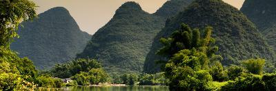 China 10MKm2 Collection - Karst Mountains at sunset - Yangshuo-Philippe Hugonnard-Photographic Print