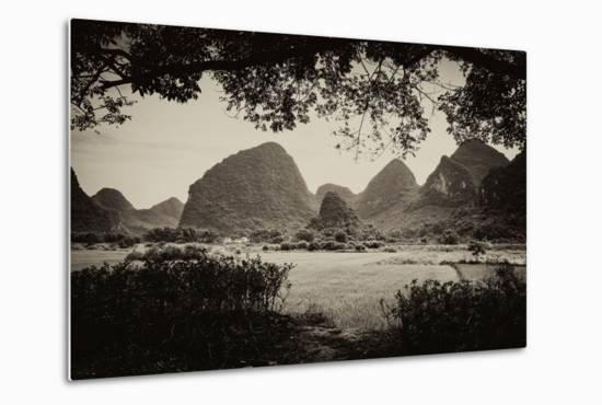 China 10MKm2 Collection - Karst Mountains - Yangshuo-Philippe Hugonnard-Metal Print