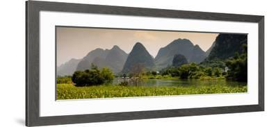China 10MKm2 Collection - Karst Moutains in Yangshuo-Philippe Hugonnard-Framed Photographic Print