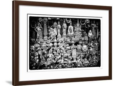 China 10MKm2 Collection - Market Buddhas-Philippe Hugonnard-Framed Photographic Print