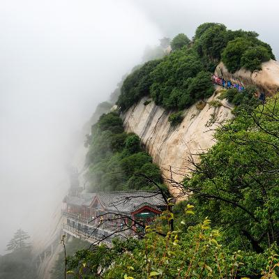 China 10MKm2 Collection - Mount Huashan - Shaanxi-Philippe Hugonnard-Photographic Print