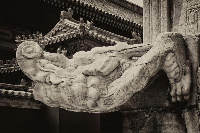 China 10MKm2 Collection - Mythological Statue-Philippe Hugonnard-Photographic Print