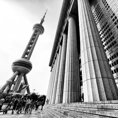China 10MKm2 Collection - Oriental Pearl Tower - Shanghai-Philippe Hugonnard-Photographic Print