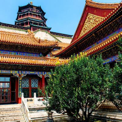 China 10MKm2 Collection - Pavilion of Buddhist - Summer Palace-Philippe Hugonnard-Photographic Print