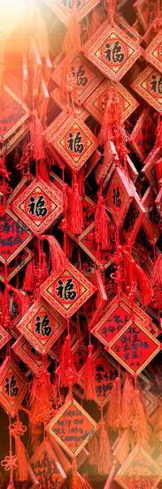 China 10MKm2 Collection - Prayer Buddhist Temple-Philippe Hugonnard-Photographic Print