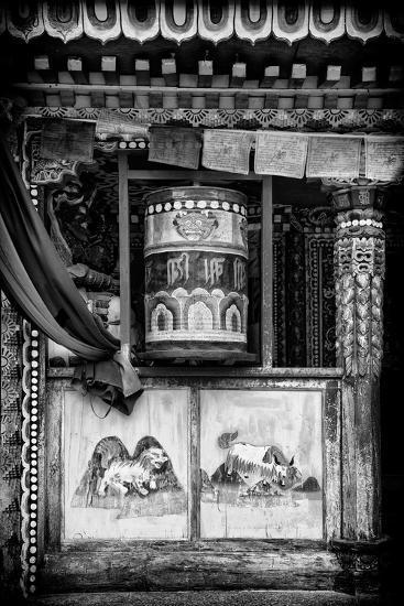 China 10MKm2 Collection - Prayer Wheels-Philippe Hugonnard-Photographic Print