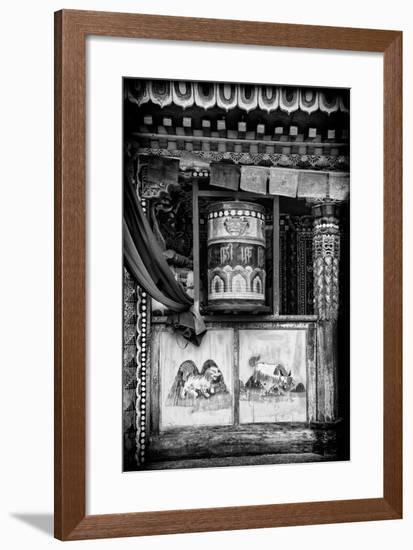 China 10MKm2 Collection - Prayer Wheels-Philippe Hugonnard-Framed Premium Photographic Print