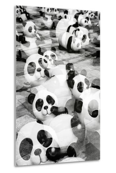 China 10MKm2 Collection - Psychedelic Pandas-Philippe Hugonnard-Metal Print