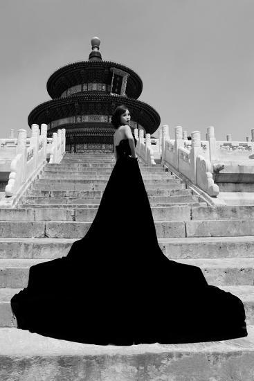 China 10MKm2 Collection - Red Carpet - Temple of Heaven-Philippe Hugonnard-Photographic Print