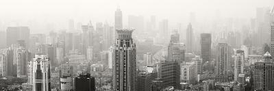 China 10MKm2 Collection - Shanghai Cityscape-Philippe Hugonnard-Photographic Print
