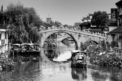 China 10MKm2 Collection - Shanghai Water Town - Qibao-Philippe Hugonnard-Photographic Print