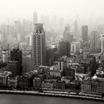 China 10MKm2 Collection - Shanghai-Philippe Hugonnard-Photographic Print