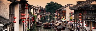 China 10MKm2 Collection - Shantang water Town - Suzhou-Philippe Hugonnard-Photographic Print