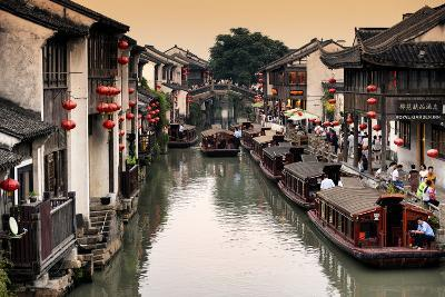 China 10MKm2 Collection - Shantang water Town - Suzhou-Philippe Hugonnard-Photographic Print