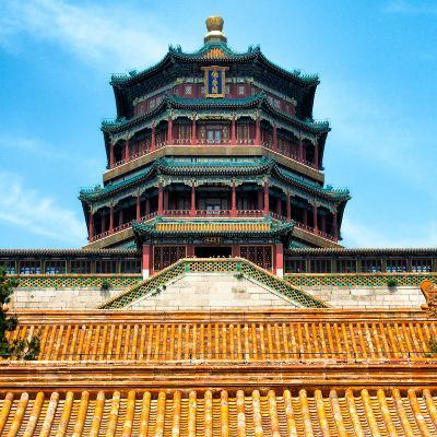 China 10MKm2 Collection - Summer Palace Temple - Beijing-Philippe Hugonnard-Photographic Print