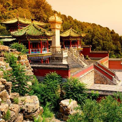 China 10MKm2 Collection - Summer Palace Temple-Philippe Hugonnard-Photographic Print