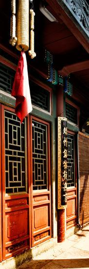 China 10MKm2 Collection - Temple Detail-Philippe Hugonnard-Photographic Print