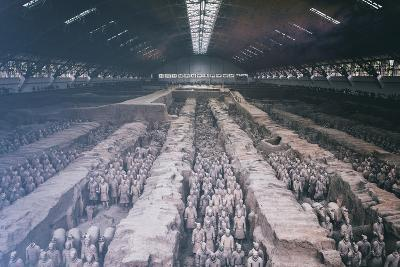 China 10MKm2 Collection - Terracotta Warriors and Horses-Philippe Hugonnard-Photographic Print