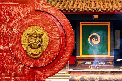China 10MKm2 Collection - The Door God - Yin Yang-Philippe Hugonnard-Photographic Print