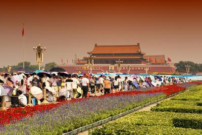 China 10MKm2 Collection - Tiananmen Square-Philippe Hugonnard-Photographic Print