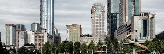 China 10MKm2 Collection - Tianfu Square - Chengdu-Philippe Hugonnard-Photographic Print