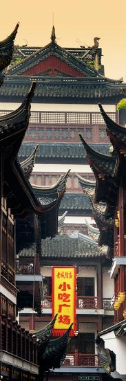 China 10MKm2 Collection - Traditional Architecture in Yuyuan Garden - Shanghai-Philippe Hugonnard-Photographic Print
