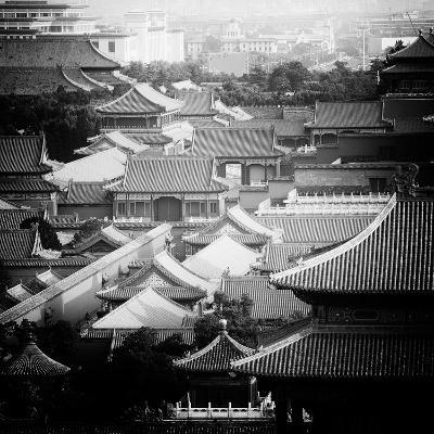 China 10MKm2 Collection - View of the roofs of Forbidden City-Philippe Hugonnard-Photographic Print