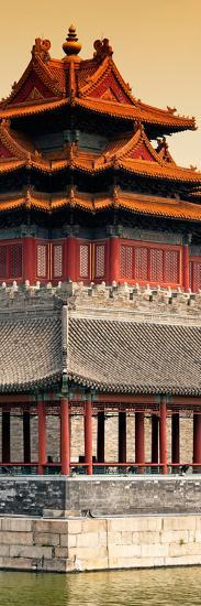 China 10MKm2 Collection - Watchtower - Forbidden City - Beijing-Philippe Hugonnard-Photographic Print