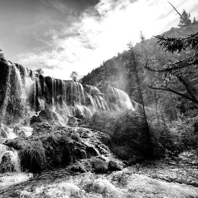 China 10MKm2 Collection - Waterfalls in the Jiuzhaigou National Park-Philippe Hugonnard-Photographic Print