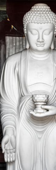 China 10MKm2 Collection - White Buddha-Philippe Hugonnard-Photographic Print