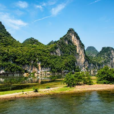 China 10MKm2 Collection - Yangshuo Li River-Philippe Hugonnard-Photographic Print