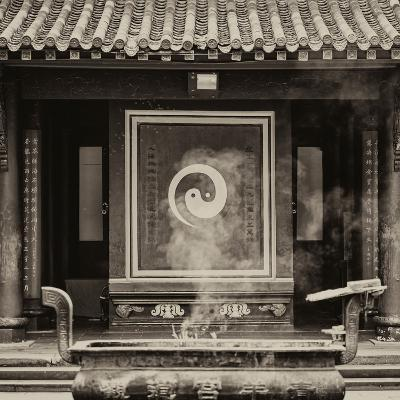 China 10MKm2 Collection - Yin Yang Temple-Philippe Hugonnard-Photographic Print