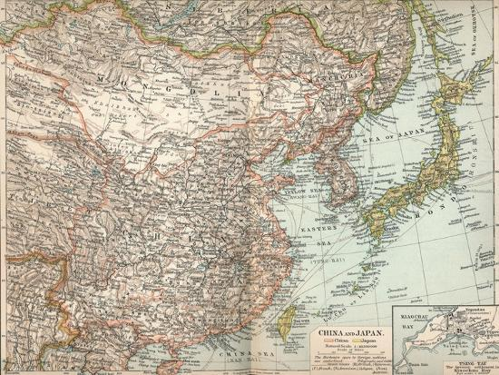 'China and Japan', c1903, (1904)-Unknown-Giclee Print