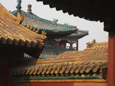 China, Beijing, Forbidden City, Traditional Architecture-Keren Su-Photographic Print