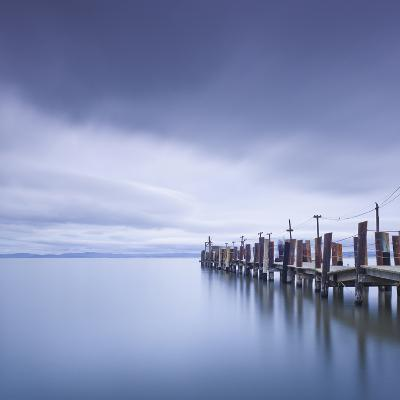 China Camp Pier-Moises Levy-Photographic Print