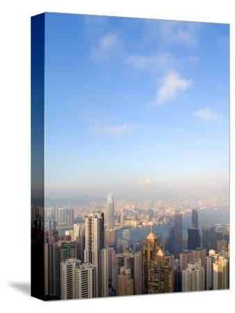 China cityscape-Sung-Il Kim-Stretched Canvas Print